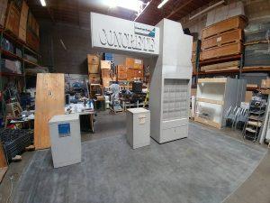 Custom Island Booth Concrete Association